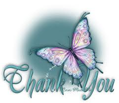 butterfly thank you 2