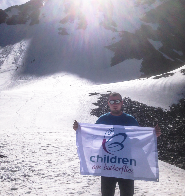 Support For Children Are Butterflies Reaches New Heights!
