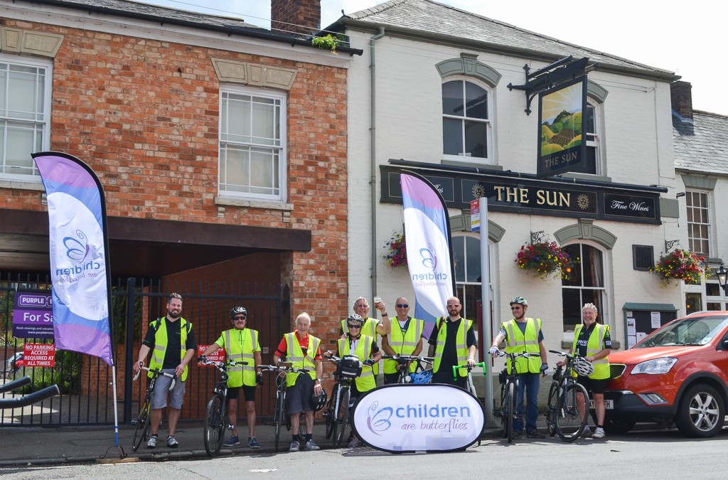 The Northampton Over 60's Cycling Club Charity Cycle Ride